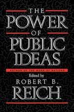 The Power of Public Ideas