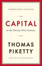 Capital in the Twenty–First Century