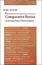 Comparative Poetics – An Intercultural Essay on Theories of Literature