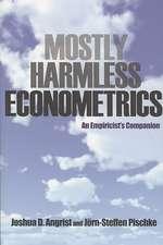 Mostly Harmless Econometrics – An Empiricist`s Companion
