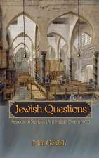 Jewish Questions – Responsa on Sephardic Life in the Early Modern Period