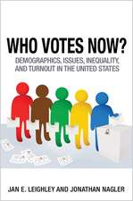 Who Votes Now? – Demographics, Issues, Inequality, and Turnout in the United States