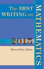 Best Writing on Mathematics 2015