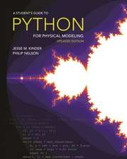 A Student′s Guide to Python for Physical Modelin – Second Edition