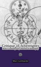 Critique of Sovereignty