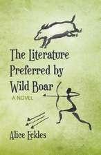 The Literature Preferred by Wild Boar