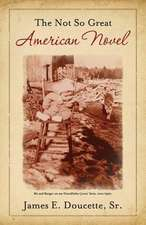 The Not So Great American Novel