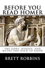 Before You Read Homer