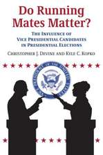 Do Running Mates Matter?: The Influence of Vice Presidential Candidates in Presidential Elections