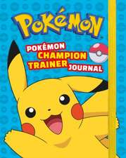Pokemon Champion Trainer Journal