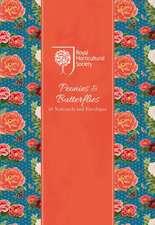 Rhs Peonies and Butterflies Notecard Wallet