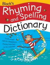 Black's Rhyming and Spelling Dictionary
