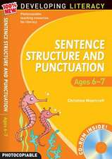 Sentence Structure and Punctuation - Ages 6-7