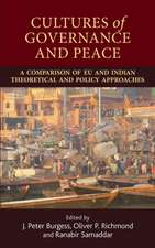 Cultures of Governance and Peace