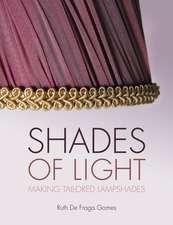 Shades of Light:  Making Tailored Lampshades