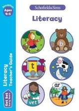 Get Set Literacy Teacher's Guide: Early Years Foundation Stage, Ages 4-5