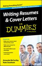 Writing Resumes and Cover Letters For Dummies – Australia / NZ