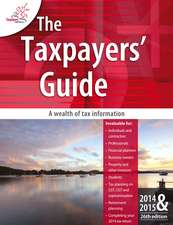 The Taxpayers Guide 2014–2015