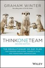 Think One Team: The Revolutionary 90 Day Plan that Engages Employees, Connects Silos and Transforms Organisations