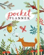 Forest Friends Pocket Planner: 11 x 14 cm