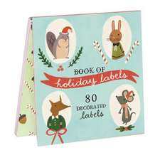 Holiday Forest Friends Labels:  A Sunday on La Grande Jatte - 1884 Notecards [With 17 Colored Envelopes]