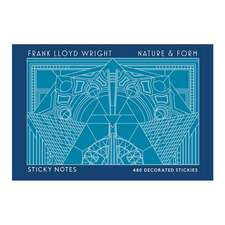 Frank Lloyd Wright Nature & Form Sticky Notes:  Guided Activities to Draw, Color, and Design!
