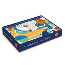 Frank Lloyd Wright Foundation Hoffman House Rug Design 1000 Piece Puzzle