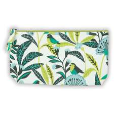 Avian Tropics Handmade Embroidered Pouch