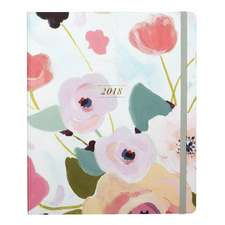 Painted Petals 2018 Dated Planner
