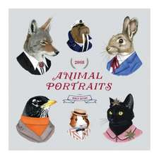 Berkley Bestiary Animal Portrait 2018 Wall Calendar