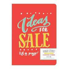 Ladyfingers Letterpress High Five Writer's Notebook Set