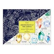 Birthstones & the Zodiac 2-sided 500 Piece Puzzle