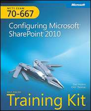MCTS Self-Paced Training Kit (Exam 70-667):  Configuring Microsoft SharePoint 2010 [With CDROM]