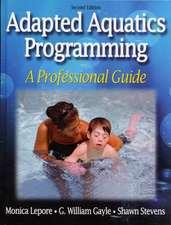 Adapted Aquatics Programming