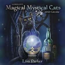 Llewellyn's 2020 Magical Mystical Cats Calendar