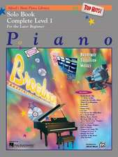 Alfred's Basic Piano Course Top Hits! Solo Book: Complete 1 (1a/1b)