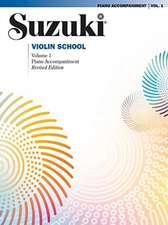Suzuki Violin School, Volume 1: Piano Accompaniment