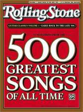 Selections from Rolling Stone Magazine's 500 Greatest Songs of All Time: Early Rock to the Late '60s (Easy Guitar Tab)