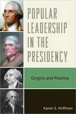 Popular Leadership in the Presidency