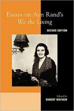 Essays on Ayn Rand's We the Living