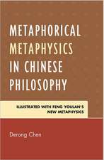 Metaphorical Metaphysics in Chinese Philosophy