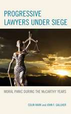 Progressive Lawyers Under Siege