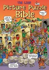 The Lion Picture Puzzle Bible:  Activity Book with Stickers