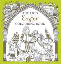 Lion Easter Colouring Book