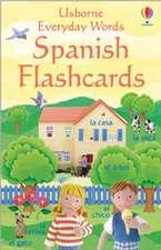 Everyday Word Flashcards In Spanish