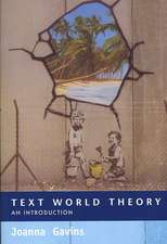Text World Theory