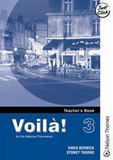 Voila! 3 Higher Teacher's Book