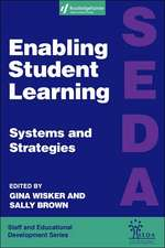Enabling Student Learning:  Systems and Strategies
