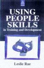 Using People Skills In Training & Development