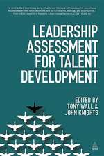 Leadership Assessment for Talent Development